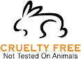 Cruelty free, not tested on animals