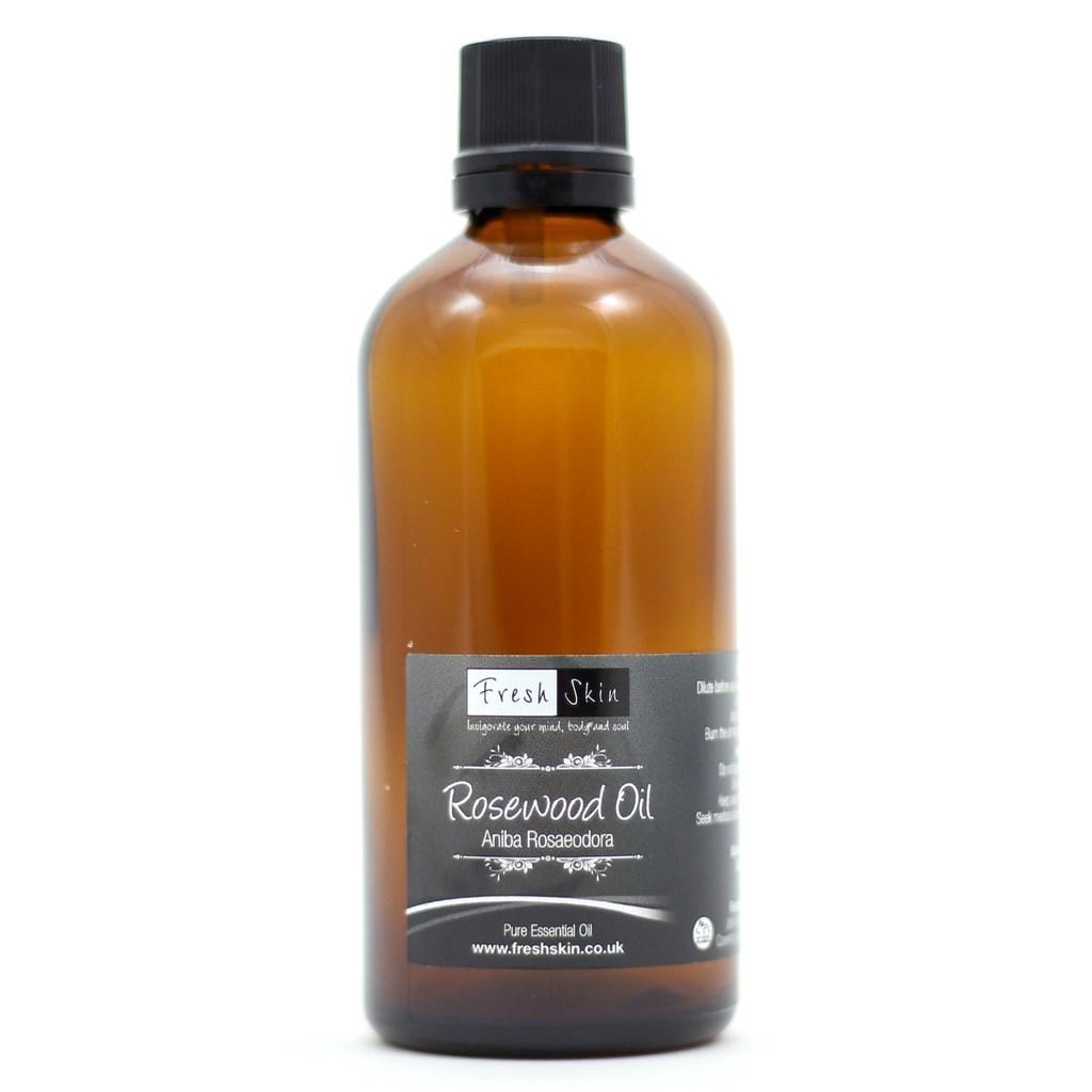 Rosewood essential oil fresh skin beauty