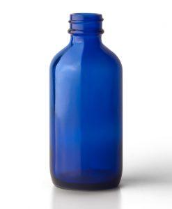 Cobalt Blue Boston Round Bottles
