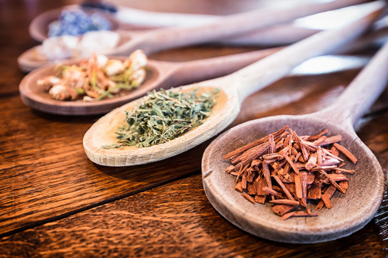 a range of masculine smelling spices for helping deal with stress